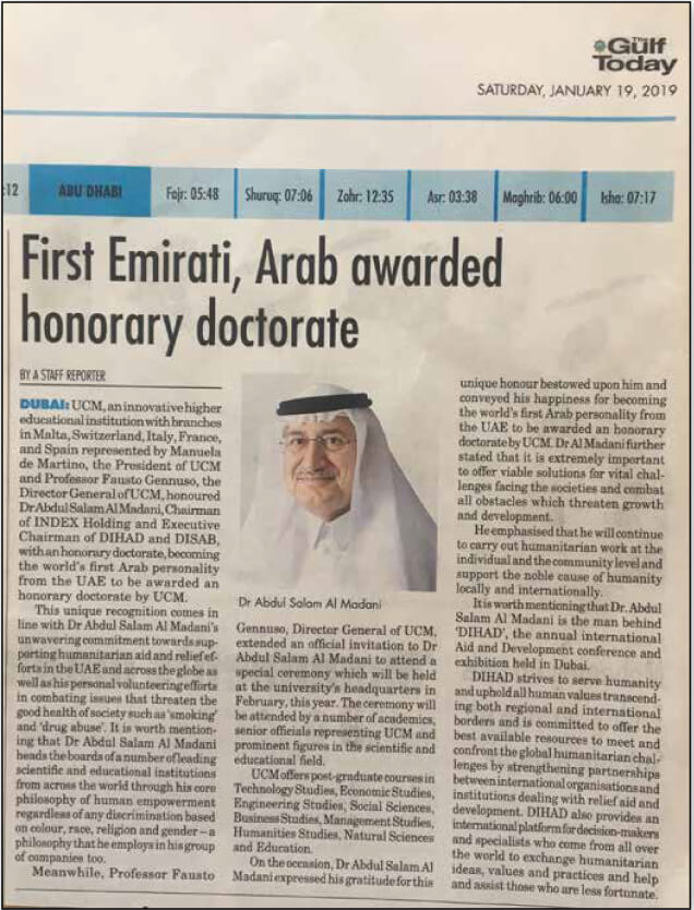 UCM-Honors-Chairman-Dr-Abdul-Salam-Al-Madani-2019---The-Gulf-Today